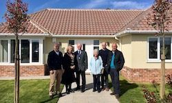 TDC Chairman Opens Gainsford Gardens Development